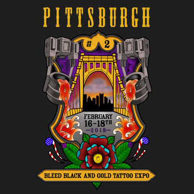 Pittsburgh tattoo expo bleed black and gold exposed for Pittsburgh tattoo convention